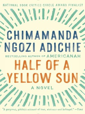 cover image of Half of a Yellow Sun